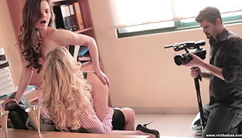Milf teen duo explore their sexuality