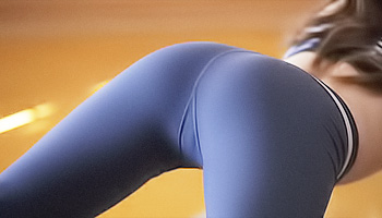Yoga makes her very horny