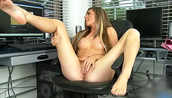 Watching porn makes her feel horny