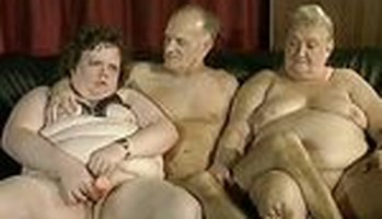 Outstanding retro orgy with fat grannies