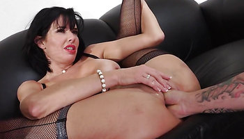 Sexy business woman Veronica Avluv banged and fisted