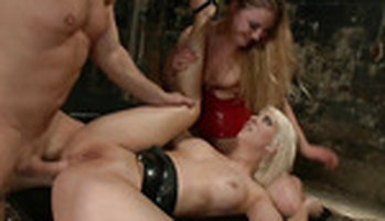 Aurora Snow and Cherry Torn ass play for Everything Butt