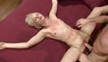 Natasha Lyn gets tied up and pounded by her husbands son