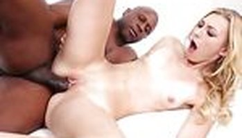 Alexa Grace interracial satisfaction with a black dude