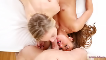 Two ladies are playing various sex games